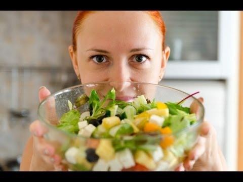 Видео рецепт: Фитнес салат