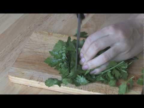 Видео рецепт как проготовить салат табуле