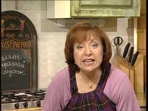 Салат из красной капусты - видео рецепт