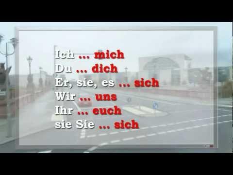 Возвратные глаголы, частичка -ся - 4 урок видео курса Немецкий язык для начинающих