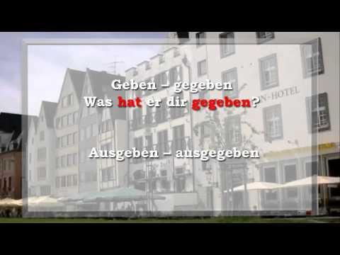 Прошедшее время, глагол haben - 9 урок видео курса Немецкий язык для начинающих