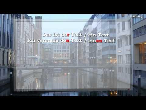 Аккузатив (Akkusativ), Артикли - 1 урок видео курса Немецкий язык с носителем