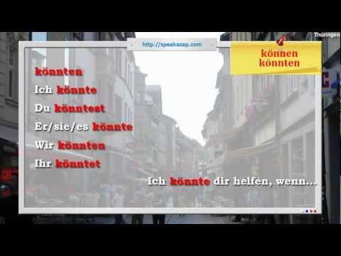 Konjunktiv II или Если бы, да кабы... - 10 урок видео курса Немецкий язык с носителем