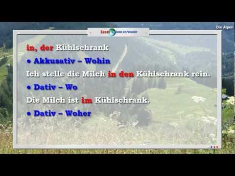 Предлоги - 6 урок видео курса Немецкий язык с носителем