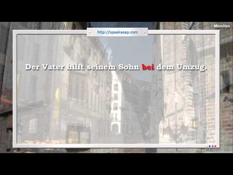 Глаголы с предлогами - 7 урок видео курса Немецкий язык с носителем